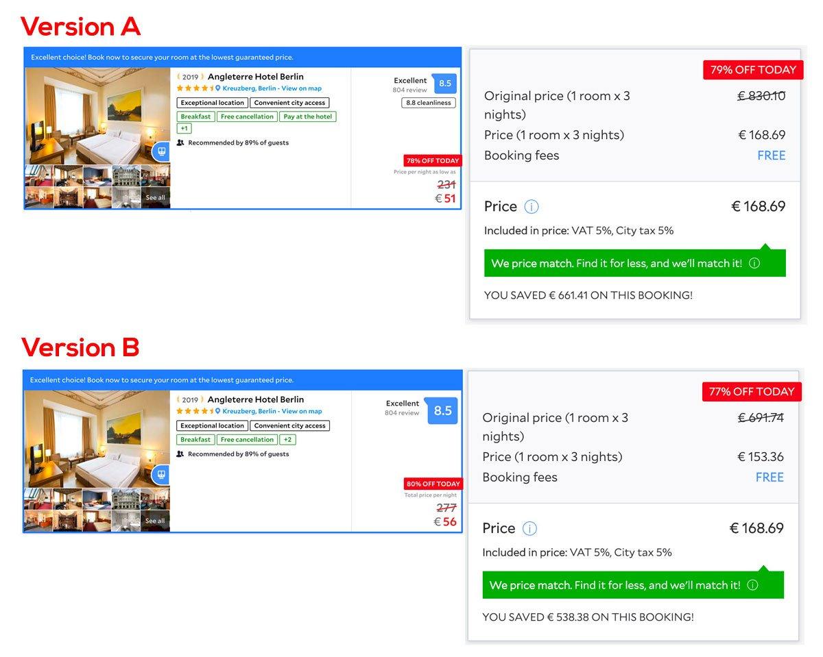 Agoda: A/B Tes on Hotels Rates